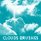 20 Cloud Brushes - GraphicRiver Item for Sale