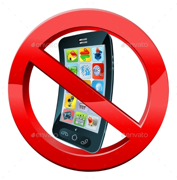 Turn Off Mobile Phones Sign - Miscellaneous Vectors