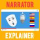 Narrator Explainer Video Pack - VideoHive Item for Sale