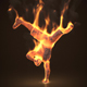 Breakdancing On Fire - VideoHive Item for Sale