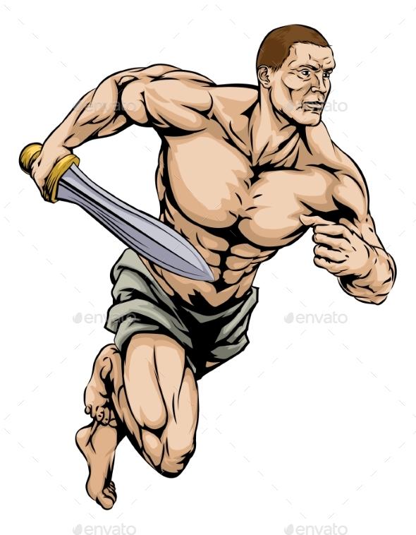 Gladiator Warrior - People Characters