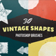 30 Vintage Ink Shapes Photoshop Brushes - GraphicRiver Item for Sale