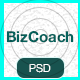 BizCoach - Busines Training, Coaching & Corporate PSD Template Nulled