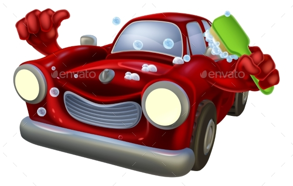 Cartoon Car Wash - Miscellaneous Characters