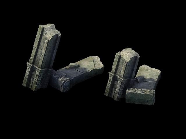 Game Model - Broken Stones 02