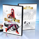 White Deluxe DVD Cover Template