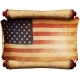 Manuscript with the US Flag - GraphicRiver Item for Sale
