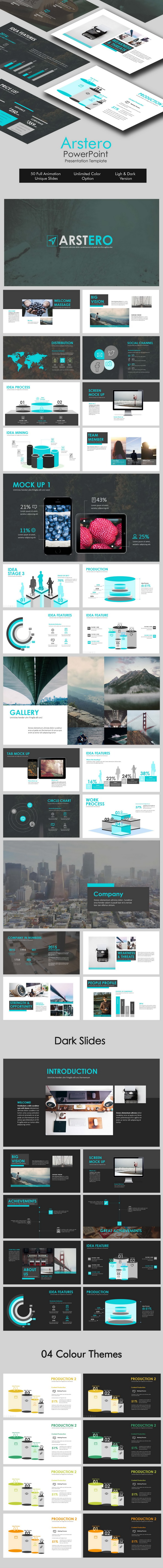 Astero Powerpoint Template - Business PowerPoint Templates