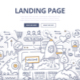 Landing Page Doodle Concept - GraphicRiver Item for Sale