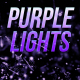 Purple Lights Loop - VideoHive Item for Sale