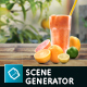 Organic Juice Mockup & Hero Image Scene Generator - GraphicRiver Item for Sale