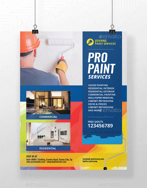 Paint Flyer Services By Artchery Graphicriver