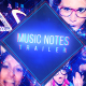 Music Notes Trailer - VideoHive Item for Sale
