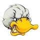 Duck Sports Mascot