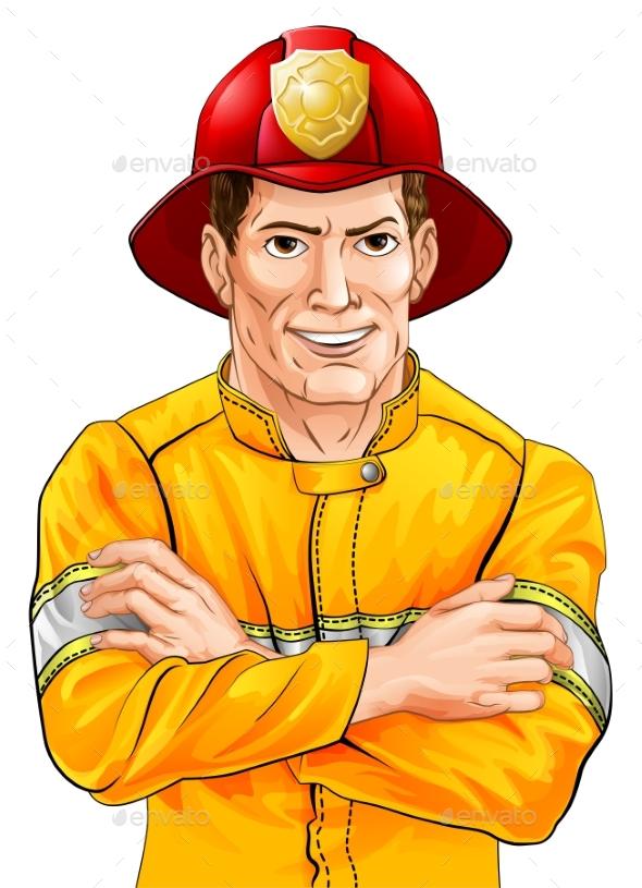 Fireman - People Characters