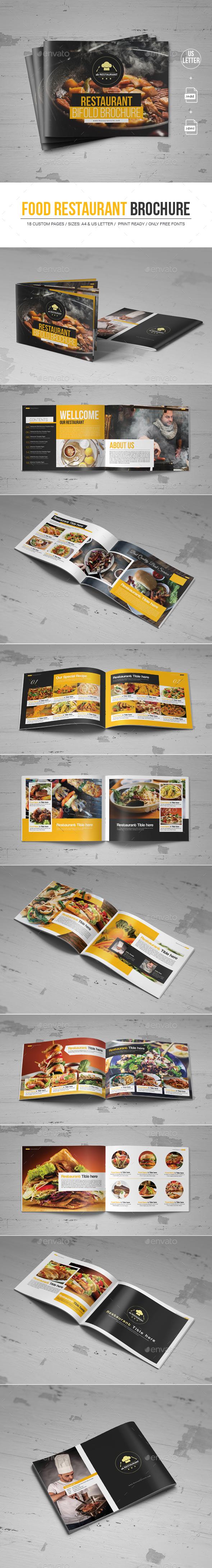 Food Restaurant Brochure - Corporate Brochures
