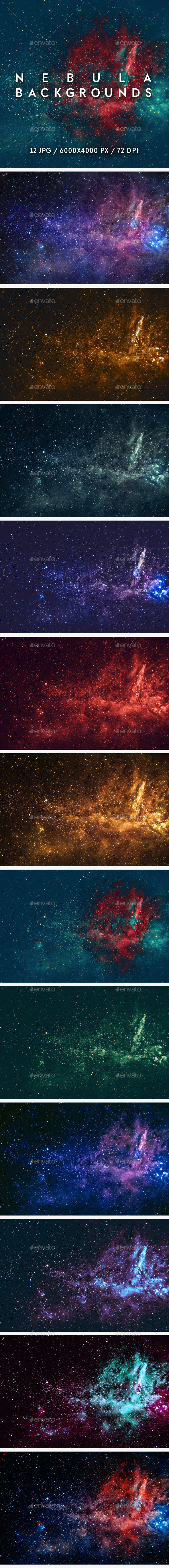 Nebula Backgrounds - Abstract Backgrounds