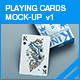 Playing Cards Mock-up v1 - GraphicRiver Item for Sale