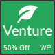 Venture – Modern Environmental Theme - ThemeForest Item for Sale