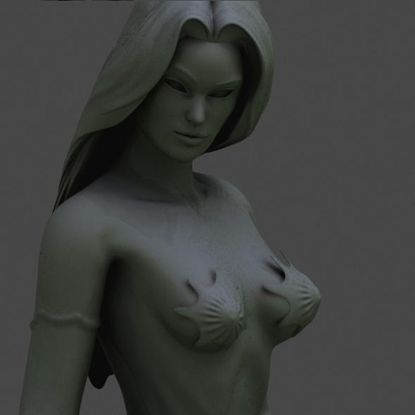 printable nymph - 3DOcean Item for Sale