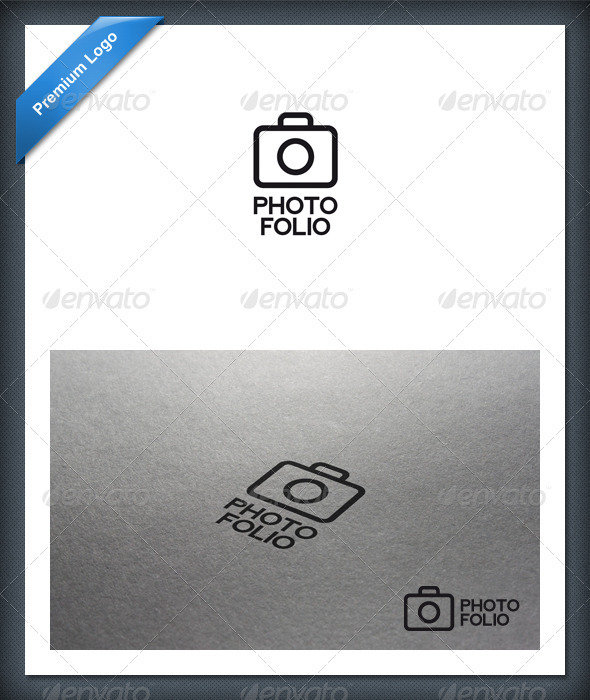 Photo Folio Logo Template - Objects Logo Templates