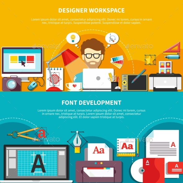 Designer Tools Composition Set - Business Conceptual