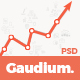 Gaudium - One Page PSD Template - ThemeForest Item for Sale