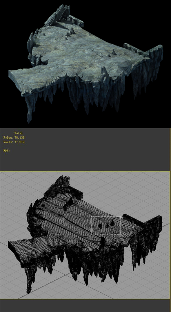 Game Model - Ground - 3DOcean Item for Sale