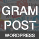 Gram Post - Instagram Automatic For Wordpress