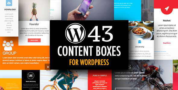 WordPress Content Boxes Plugin with Layout Builder - CodeCanyon Item for Sale