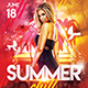 Summer Chill Flyer - GraphicRiver Item for Sale