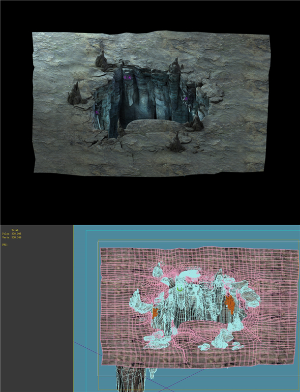 Game Model - Heihe Area Lianqi Cave - 3DOcean Item for Sale