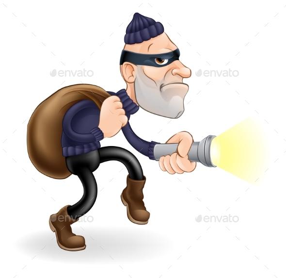 Thief or Burglar - People Characters