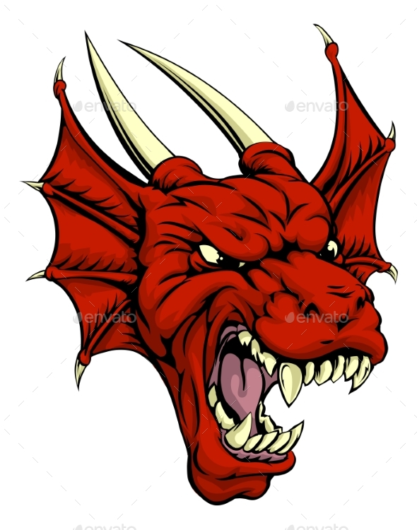 Red Dragon Character - Monsters Characters