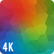 Vibrant Colorful Polygonal Background 4K Nulled