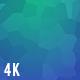Vibrant Blue Polygonal Background 4K Nulled