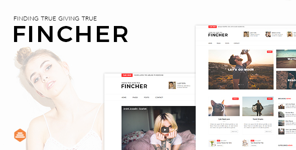 Fincher - Multi-Purpose Blog, Magazine & News Template - Entertainment Site Templates