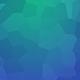 Vibrant Blue Polygonal Background