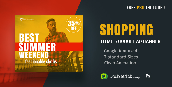 Shopping - HTML5 Animated Banner 17 - CodeCanyon Item for Sale