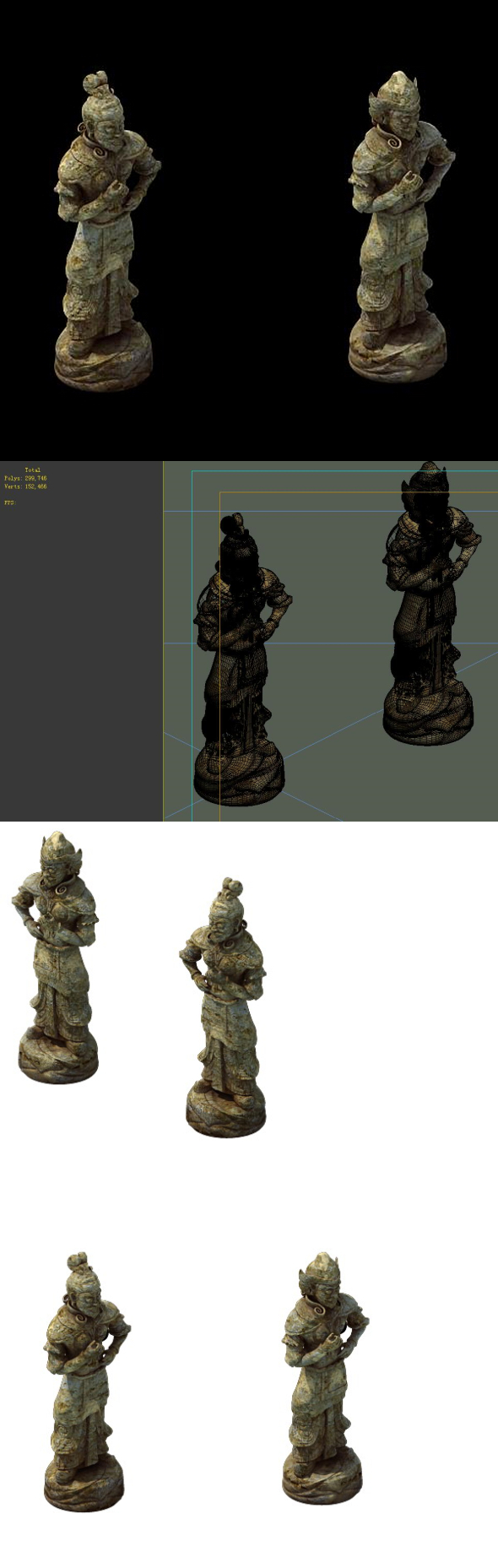 Game Model - Imperial Tombs  Funeral objects 02 - 3DOcean Item for Sale