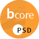bcore - Business Consulting and Professional Services PSD Template Nulled