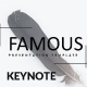 Famous - Keynote Presentation Template - GraphicRiver Item for Sale