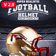 Realistic Football helmet Mockup / Full customizable - GraphicRiver Item for Sale