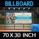 Bookstore Billboard Template - GraphicRiver Item for Sale