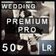 50 Extra PRO Wedding Dream Lightroom Presets - GraphicRiver Item for Sale