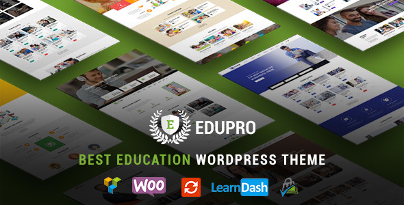 EduPro - Professional WordPress Education Theme
