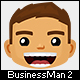 Business Man Mascot 2 - GraphicRiver Item for Sale