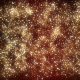 Golden Glowing Glitter Visuals Background - VideoHive Item for Sale