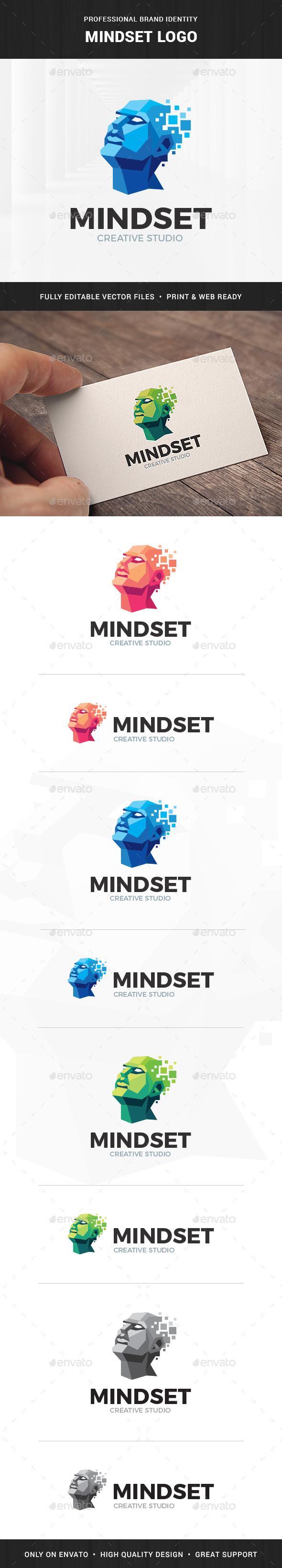 Mindset Logo Template - Humans Logo Templates