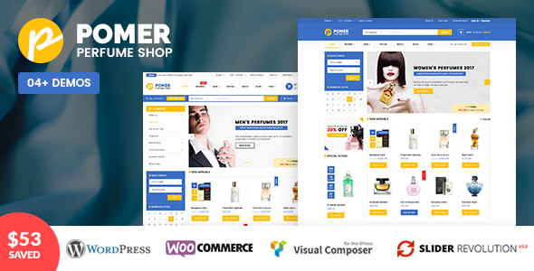 VG Pomer – Perfume Store WooCommerce WordPress Theme